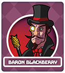 Fruit Fight Characters - Baron Blackberry