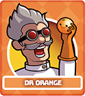 Fruit Fight Characters - Dr Orange