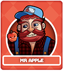 Fruit Fight Characters - Mr Apple