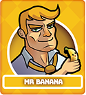 Fruit Fight Characters - Mr Banana