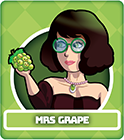 Fruit Fight Characters - Mrs Grape